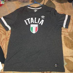 Men's XL Umbro Italia T-Shirt